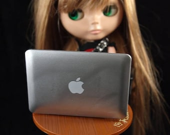 Cute Mac Mirror for Blythe and Pullip Dolls