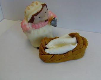 Mrs. Tiggy Winkle Cake Topper-Peter Rabbit/Beatrix Potter-1st Birthday/Baby Shower/Birthday