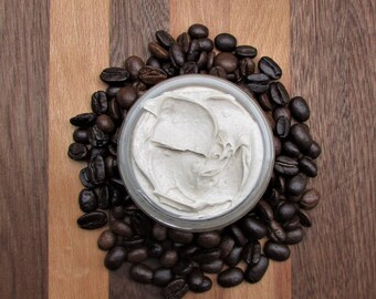 Mocha Body Butter, Organic Body Butter, Natural Body Butter, Body Moisturizer, Skin Moisturizer, Organic Coffee Body Butter, Skin Care