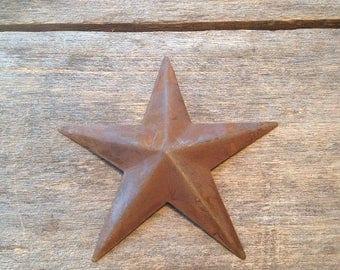 Rusty Tin Barn Star. Single Star. Rusty Barn Star. Tin Barn Star. Rusty Barn Star. Barn Star. Rusty Star. Farmhouse Star. Rusty Tin Star.