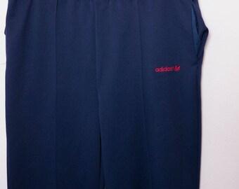 Adidas Joggers \\ 90s Track Pants \\ Navy Pants \\ Running Pants \\ Hiking Pants \\ Workout Pants \\ 90s Hip Hop