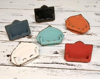 Shabby Chic Business Card Holder/Vintage Business Card Holder/Reward Cards/Loyalty Card/Office/Desk Decor/Gift Idea/Business/Coworker/Boss
