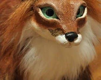 OOAK Red Fox - Posable Art Doll