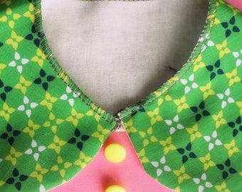 "Apron ""BALOCCO-Click"" classic shirt collar-school kindergarten painting-Waldorf-Montessori-for children and adults"