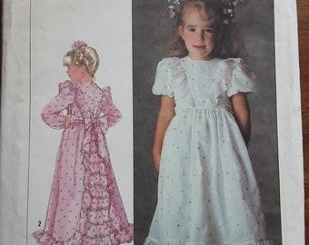 VINTAGE Simplicity 7982 Sz 4 Child's Dress