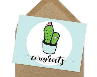congrats baby printable card  | A6