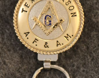 IN STOCK UNLESS Personalized Custom handcrafted Masonic key chain