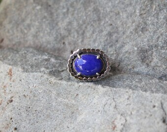 Lapis Dotted Ring