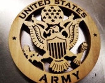 """3"""" United States Army Ornament"""