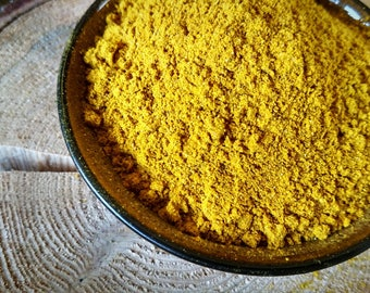 Organic Yellow Curry Powder (SALT-FREE)