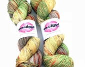 110g fingering weight sock yarn - Life on Mars