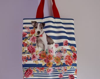 "Fabric tote bag ""Jack Russell"""