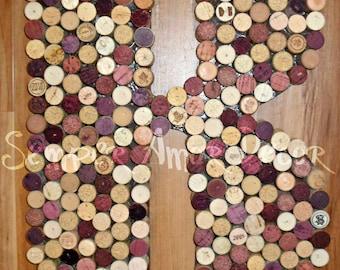 Wine Decor, Wine Cork Letter, Bar Decor, Wine Cork Letters, Wine Cork Initial, Wine Cork Monogram, Cork Letters, Wine Corks, Wine Cork, 18In