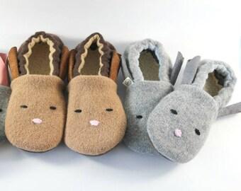 Easter Gift for Kids- Toddler Easter Gift- Bunny Slippers- Kids Easter- Baby Easter Gift- Toddler Slippers- Baby Gift- Toddler Gift