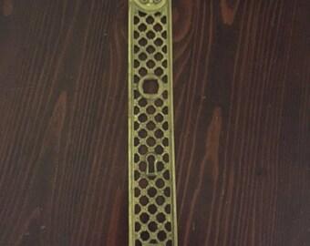 Brass French Door Plate