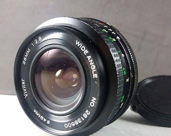 Komine Vivitar 28mm f/2,8 MC Auto Wide Angle Lens Pentax K PK