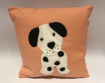 Dalmatian cushion, dog cushion, Dalmatian gift, Dalmatian gift, dog gift, Dalmatian lovers cushion, dog lovers cushion