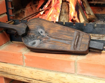 Fireplace Bellows ~ Vintage style Working Fire Bellows ~ Fireplace Hearth Tools ~ Cottage Wall Decor