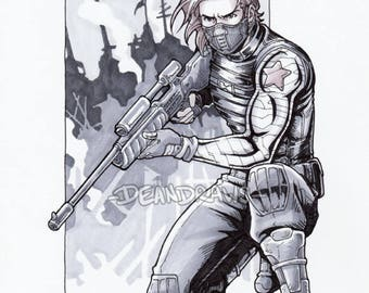 Sniper Winter Soldier (PRINT)