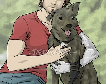 Bucky and his doggo