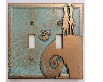 Nightmare Before Christmas - Double Light Switch Cover