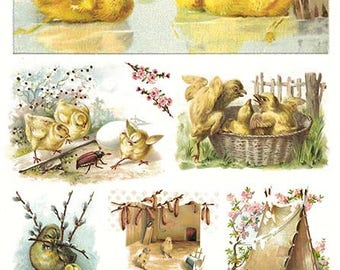 Rice paper for Easter - Decoupage Rice Paper #R302