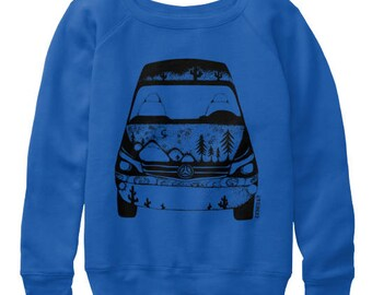 VanLife Wanderlust Womens slouchy sweatshirts All sizes available in 3 colors
