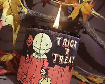 Trick 'r Treat Candle - Choose Your Fragrance - Horror Candles