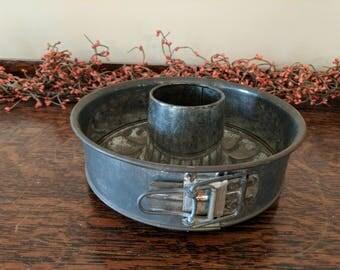Vintage Spring Form Bundt Cake Pan