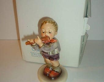 Hummel Goebel W Germany 1980s HUM 447 Morning Concert with box