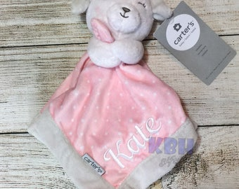 Embroidered Stuffed Animal Blanket