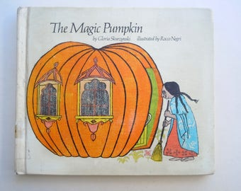 The Magic Pumpkin Gloria Skurzynski illustrations by Rocco Negri Folk Tale from India with Colorful Woodcut Illustrations