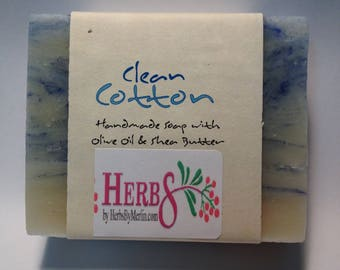 Clean Cotton Olive Oil Soap