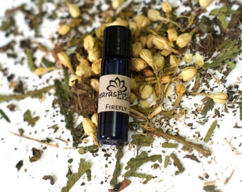 Firefly Soothing Empath Anti Anxiety Oils for the Stressed Out Witch, Wiccan, Protection Oils, Witchcraft Meditation Oil