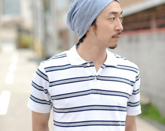 100% LINEN Beanie MADE in JAPAN Hat Summer Designer Men Women Ventilating be-win