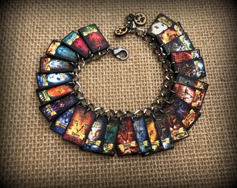 Warrior Cats - Warrior Cats Bracelet - Warrior Cats Jewelry - Warrior Cat - The New Prophecy - Power of Three - Omen of the Stars - Reader