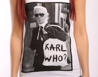 Karl Who Top - 1/3 of sales price is donated to a good cause!