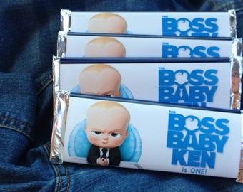 Boss Baby Hershey Wrapper