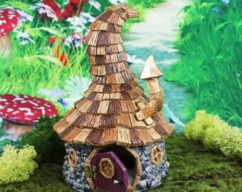 Fairy Garden Cottage | Fairy Garden Accessories | Miniature Garden Cottage | Wizard's Cottage | Fairy House