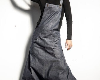 Very low crotch JUMPSUIT/OVERALLS