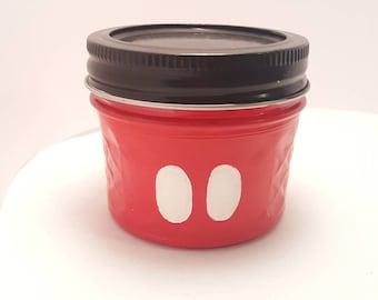 Custom Mason Jar - Mickey Storage or Stash Jar