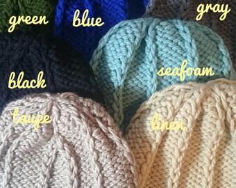 Transformation Toque, Winter Hat - Various Colours