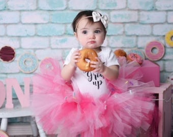 Donut tutu, sprinkle donut tutu, cupcake tutu, tutus for girls, baby tutu, first birthday tutu, confetti tutu, donut party theme