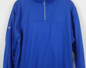 Vintage sweatshirt, TRIGEMA, TRIGEMA vintage, 90s vintage, 90s clothing, blue, oversized