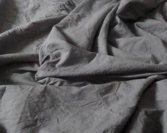 SUPER SOFT GRAPHITE linen duvet cover+2 pillowcases Linen Set eco bedding washed bedding Softened queen duvet cover twin linen cover