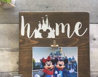 Disney Home Sign, Disney Sign, Disney Home Decor, Disneyland Sign, Disney World Sign, Disney Lover, Disney gift