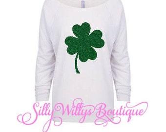 St. Patrick's Day shirt, Four leaf clover shirt, Saint Patrick's Day shirt, 4 leaf clover shirt, Lucky clover shirt, Clover shirt, St Paddy