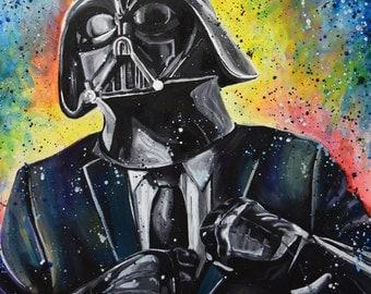 Dapper Vader (Print)