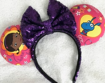Inspired Doc McStuffins Minnie/Mickey Mouse Ears
