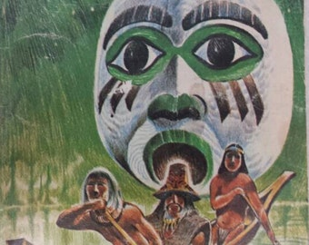 Ghost Paddle:A Northwest Coast Indian Tale by James D. Houston 1972 Paperback